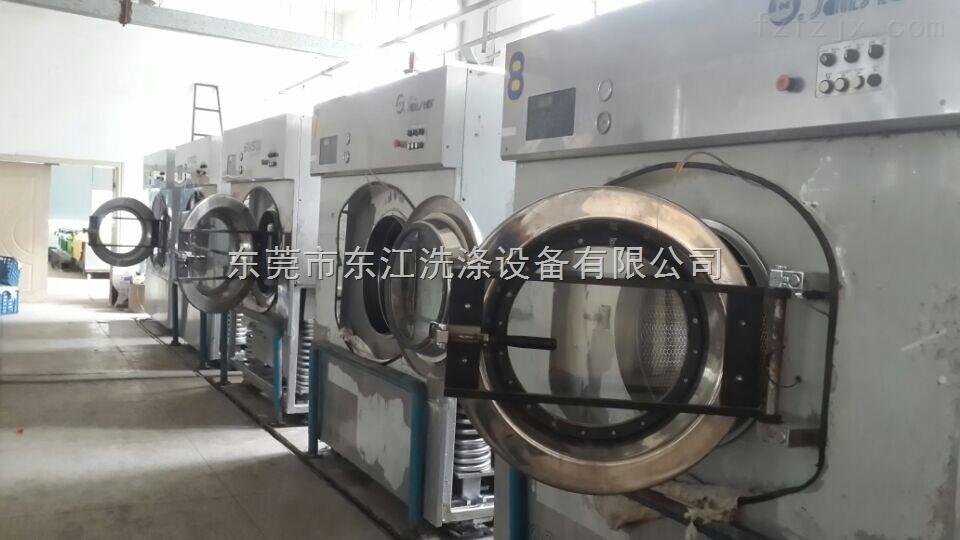 黄石干洗厂倒闭转让上海航星双槽烫平机 2O公斤洗脱机 干衣机